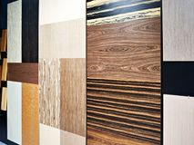 Decorative facade panels for furniture Royalty Free Stock Image