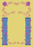 Decorative Fairy Tale Frame Royalty Free Stock Images