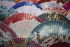 Decorative Fans Royalty Free Stock Photo