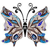 Decorative fantasy butterfly Stock Photography