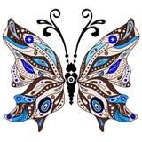 Decorative fantasy butterfly Stock Photography