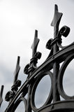Decorative fence Stock Photography