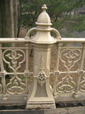Decorative Fence. Vertical royalty free stock photos