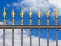 Decorative fence Stock Image