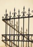 Decorative fence Royalty Free Stock Image