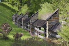 Decorative fence Stock Image