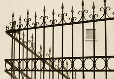 Decorative fence Royalty Free Stock Images