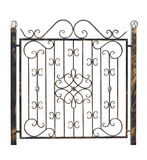 Decorative fence 3. Royalty Free Stock Photo