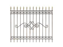 Decorative fence for the park, garden and at home. Royalty Free Stock Images