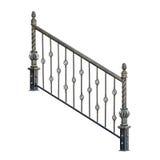 Decorative fence, railing. Stock Photography