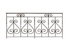 Decorative fencing. Royalty Free Stock Photo