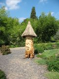 Decorative figure of a gnome-Treefolk in the Botan Stock Photo