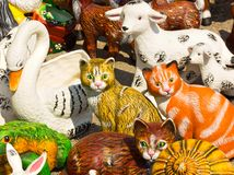 Decorative figures stock photography
