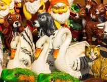 Decorative figures royalty free stock photos