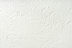 Decorative filler plaster wall texture background Royalty Free Stock Photos