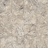 Decorative finishing marble tile seamless texture Royalty Free Stock Photography