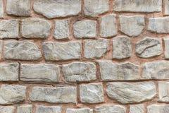 Decorative finishing walls of the house Stock Image