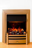 Decorative fireplace Royalty Free Stock Photography