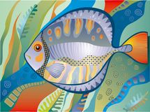 Decorative fish Royalty Free Stock Photos