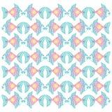 Decorative fish pattern.pattern. For shirt and print Stock Photo