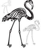 Decorative flamingo Stock Photos