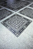 Decorative floor tiles Royalty Free Stock Image