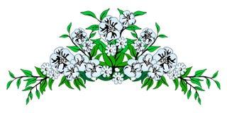 Decorative floral arrangement Royalty Free Stock Image