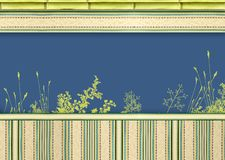 Decorative floral background Royalty Free Stock Images