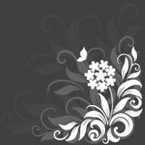 Decorative floral background Royalty Free Stock Photo