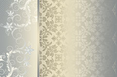 Decorative floral background. royalty free stock photos