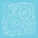 Decorative floral background with flowers Stock Images