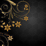 Decorative floral background Stock Image
