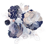 Decorative floral background. Royalty Free Stock Images