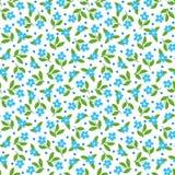 Decorative floral background. Seamless pattern with decorative floral background vector illustration royalty free illustration