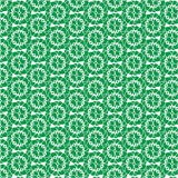Decorative floral background. Vector seamless pattern with floral elements, vector illustration Stock Image