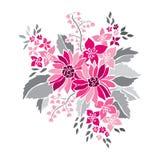 Decorative floral bouquet Stock Image