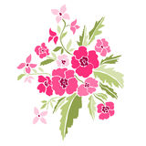 Decorative floral bouquet Royalty Free Stock Photo