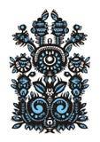 Decorative floral design Stock Image