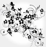 Decorative floral element Stock Photography