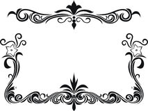 Decorative floral frame Royalty Free Stock Photography