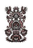 Decorative floral ornamental pattern Stock Image