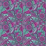 Decorative floral ornamental Stock Image