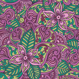 Decorative floral ornamental Stock Photo