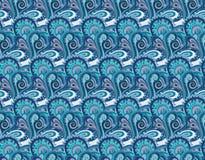 Decorative floral ornamental seamless pattern. Seamless paisley pattern for design gift, patterns fabric, wallpaper, web sites Stock Image
