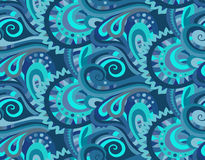 Decorative floral ornamental seamless pattern. Seamless paisley pattern for design gift, patterns fabric, wallpaper, web sites Royalty Free Stock Image
