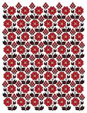 Decorative floral pattern Royalty Free Stock Photography
