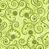 Decorative floral pattern,  Royalty Free Stock Photography