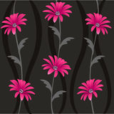 Decorative floral pattern, background Stock Photo