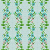 Decorative floral pattern Stock Photos