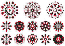 Decorative floral pattern motif Royalty Free Stock Photography